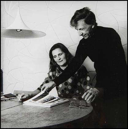 Albert Ayme et son éditrice