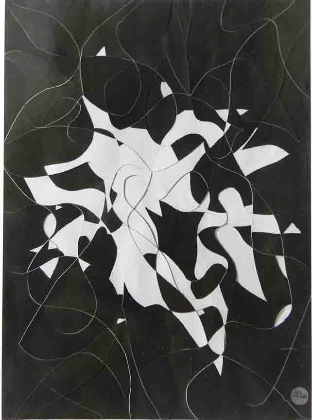 ALBERT AYME - Relief Soustractif - 1962