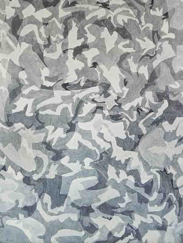 ALBERT AYME - Peinture Chromatique - 1961