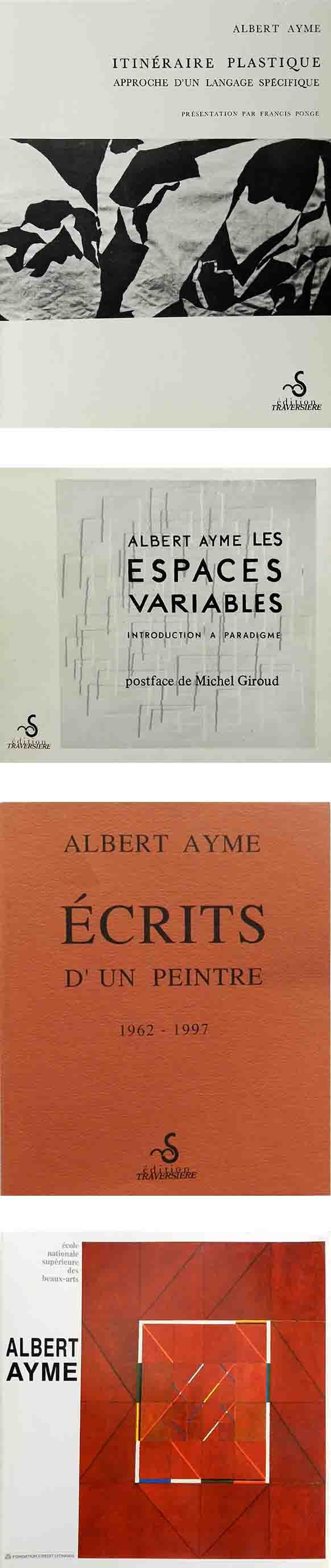 ALBERT AYME - RELIEFS SOUSTRACTIFS