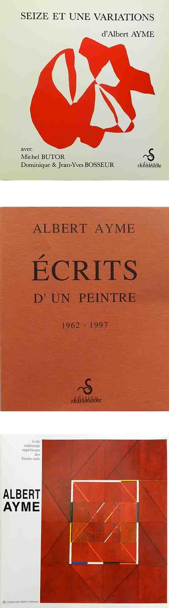 ALBERT AYME - SEIZE ET UNE VARIATIONS
