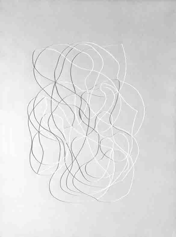 ALBERT AYME - Monochrome Blanc - 1963