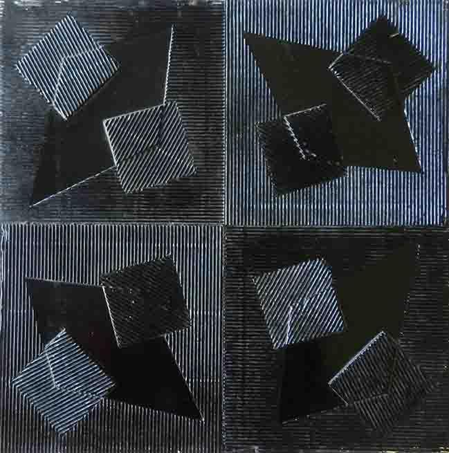 ALBERT AYME - Hommage à Malevitch - 1970