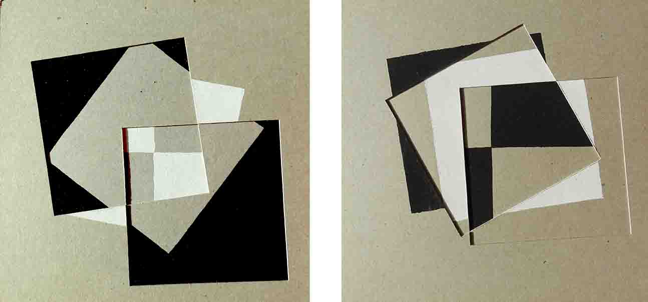 ALBERT AYME - Paradigme 1 - Peint & Incisé - 1976, 1977