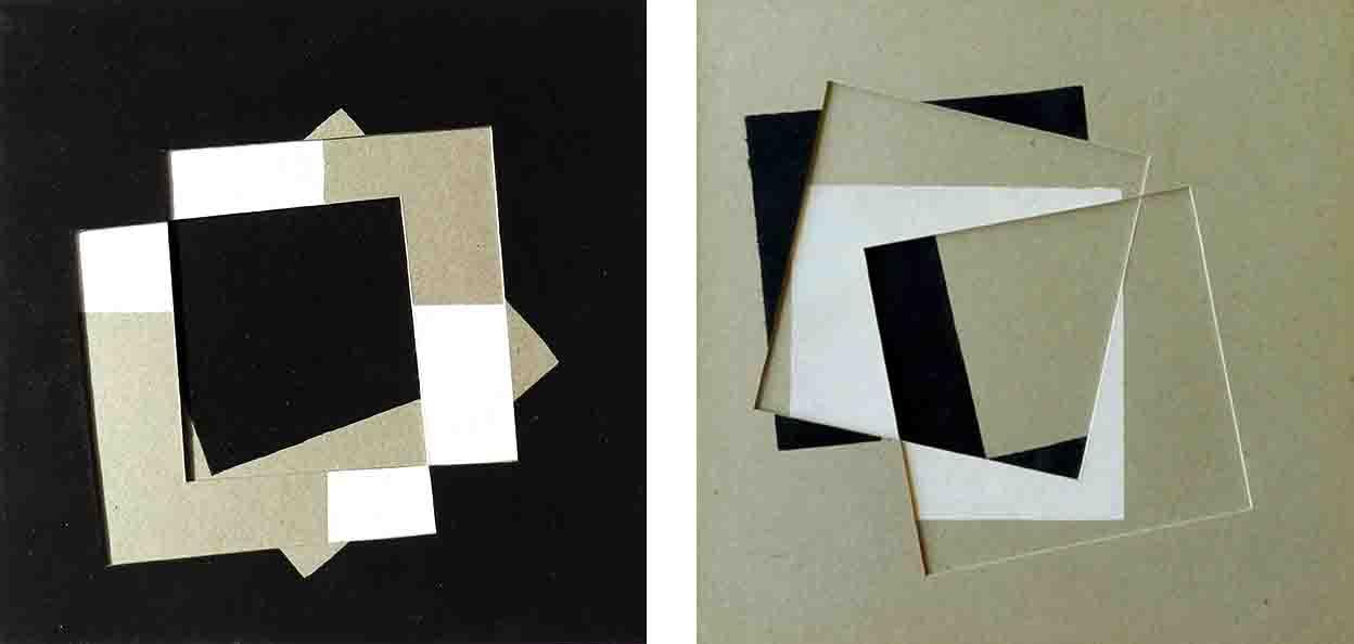 ALBERT AYME - Paradigme 1 - Peint & Incisé - 1976