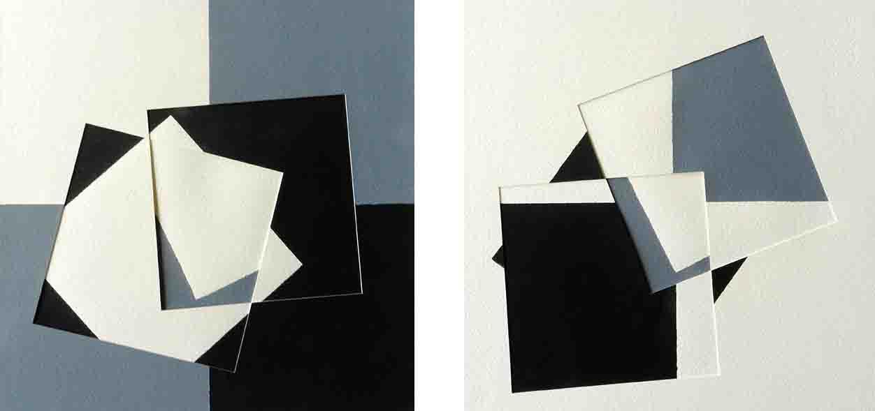 ALBERT AYME - Paradigme 2 - Peint & Incisé  - 1983