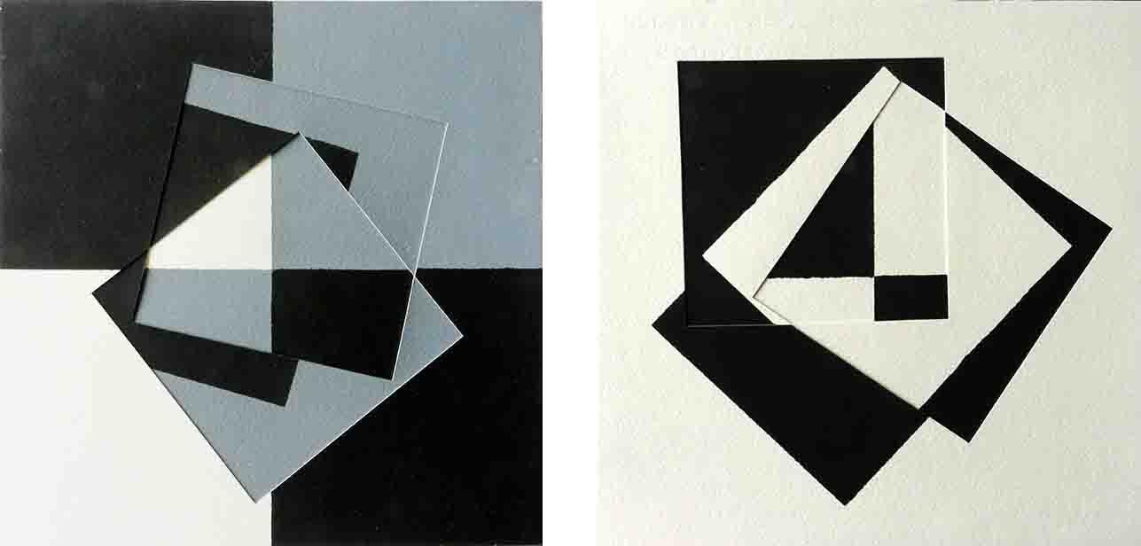 ALBERT AYME - Paradigme 2 - Peint & Incisé - 1982