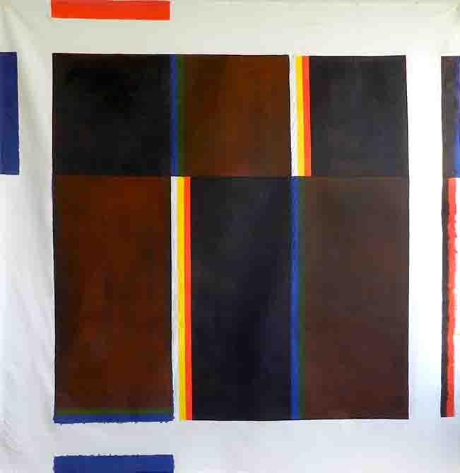 ALBERT AYME - Paradigme du Bleu Jaune Rouge - 1978