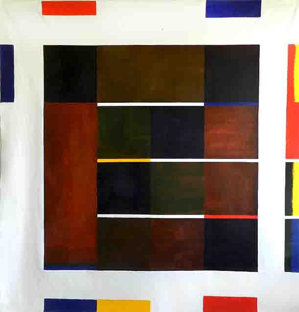 ALBERT AYME - Paradigme du Bleu Jaune Rouge - 1979