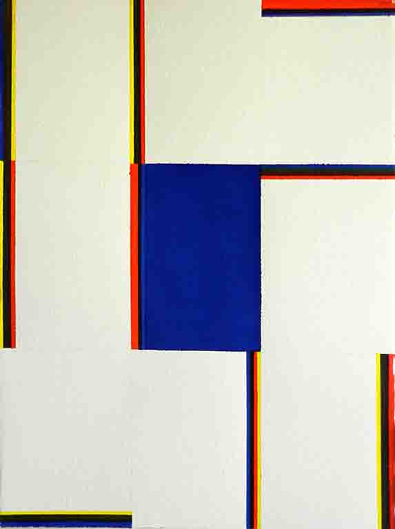 ALBERT AYME - Paradigme du Bleu Jaune Rouge - 1976