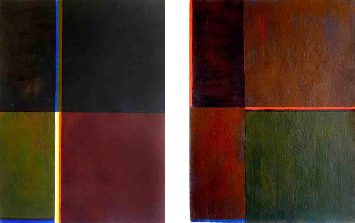 ALBERT AYME - Paradigme du Bleu Jaune Rouge - Tresse des 3 primaires - 1978, 1976