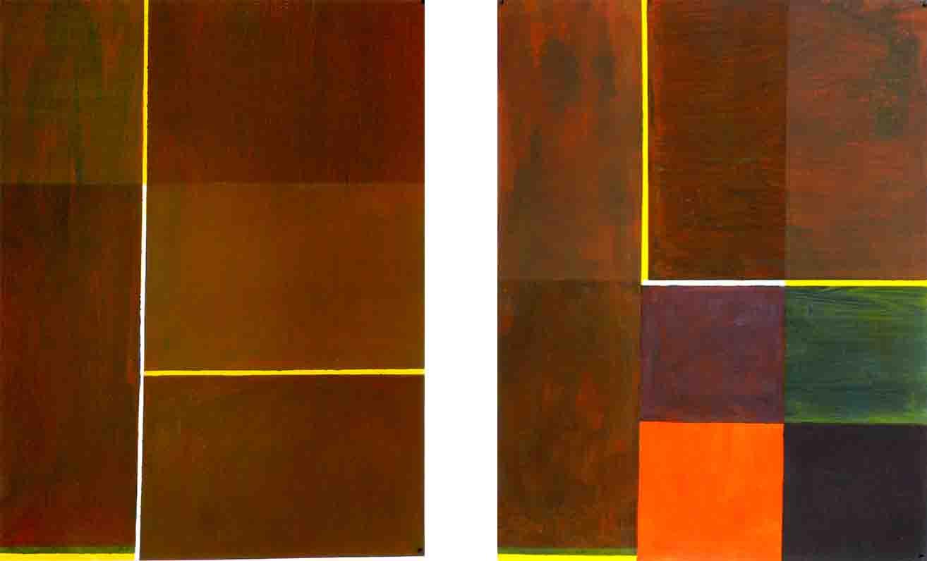 ALBERT AYME - Paradigme du Bleu Jaune Rouge - Tresse des 3 primaires - 1977, 1976