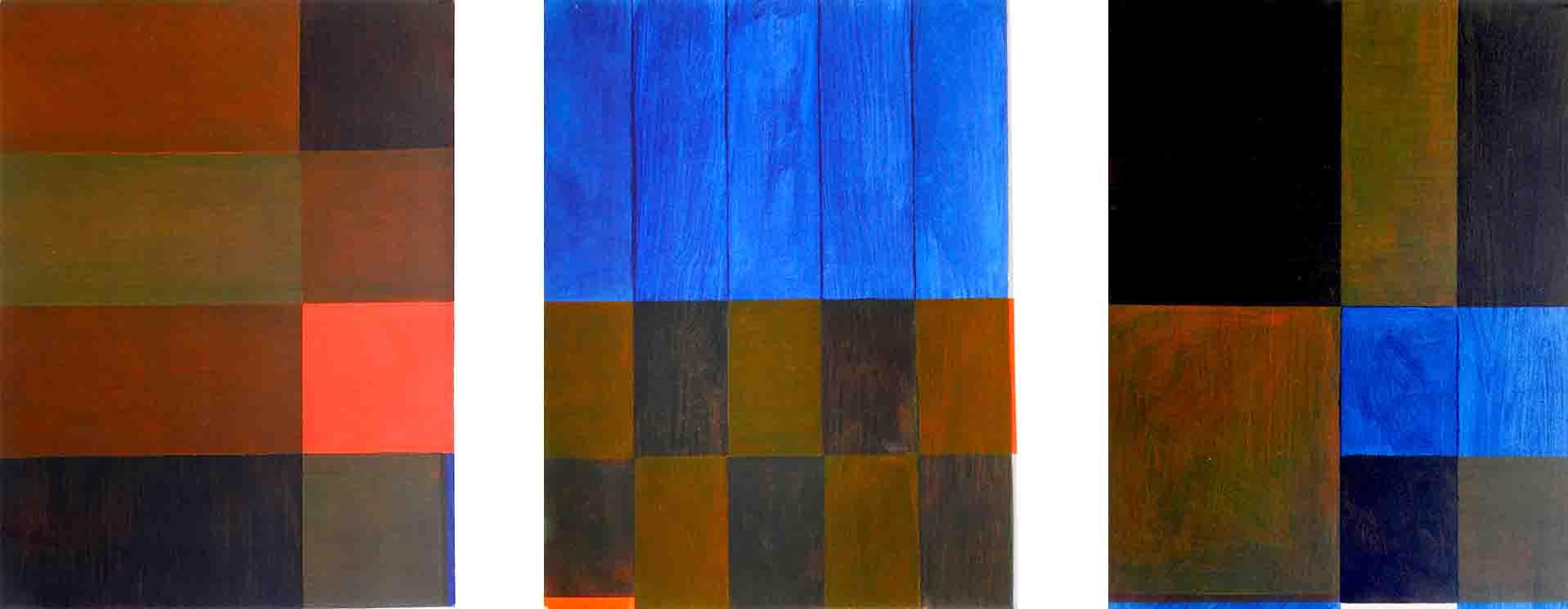 ALBERT AYME - Paradigme du Bleu Jaune Rouge - Tresse des 3 primaires - 1979