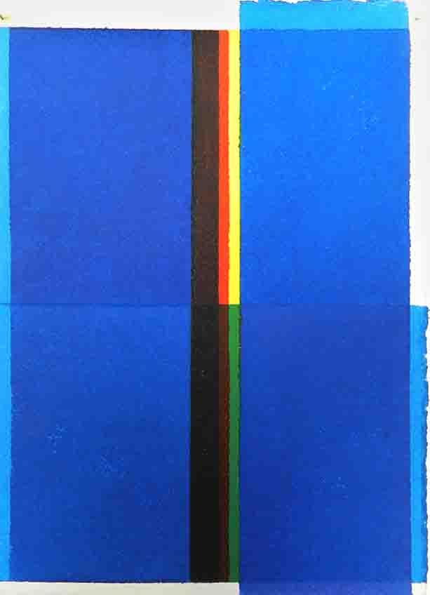 ALBERT AYME - Paradigme du Bleu Jaune Rouge - 1977