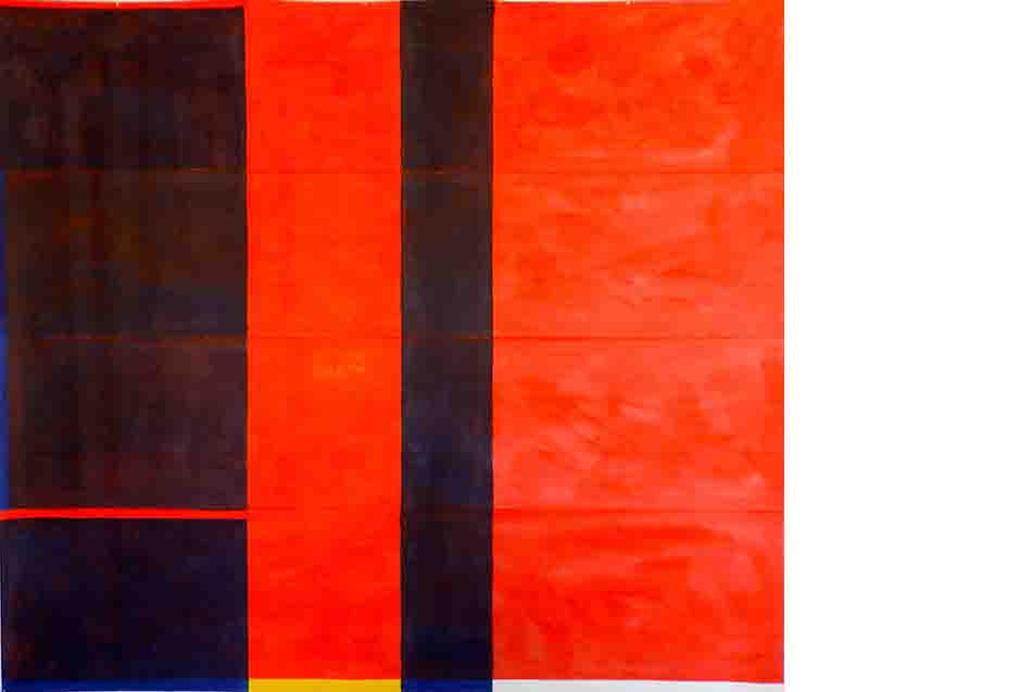 ALBERT AYME - Paradigme du Bleu Jaune Rouge -Tresse des 3 primaires - 1976