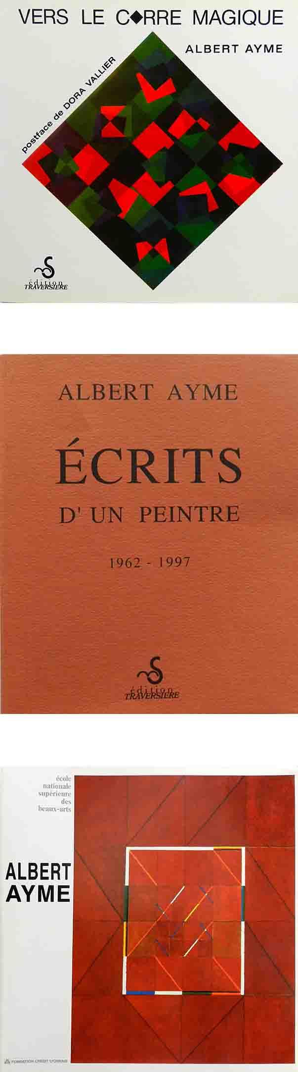 ALBERT AYME - LES CARRÉS MAGIQUES
