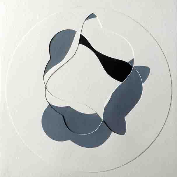 ALBERT AYME - N+1 Variations sur une Empreinte de Viallat - 1984