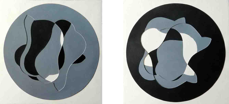 ALBERT AYME - N+1 Variations sur une Empreinte de Viallat - Peintes & incisées - 1984