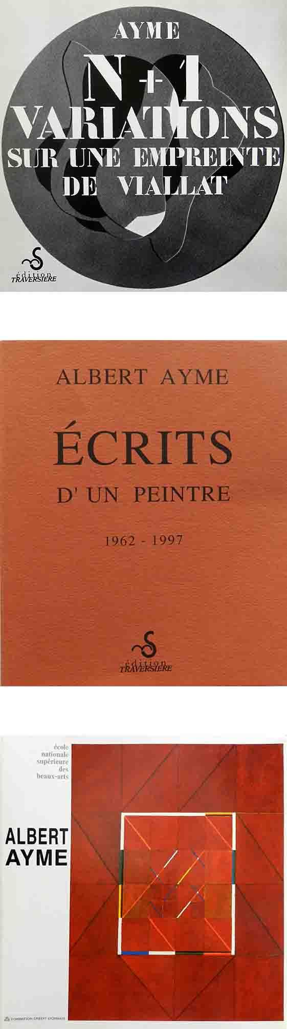 ALBERT AYME - N+1 VARIATIONS SUR  UNE EMPREINTE DEVIALLAT