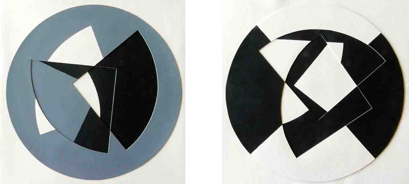 ALBERT AYME - Paradigme 3 - Peints & incisés - 1985