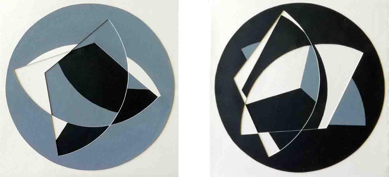 ALBERT AYME - Paradigme 4 - Peints & incisés - 1985
