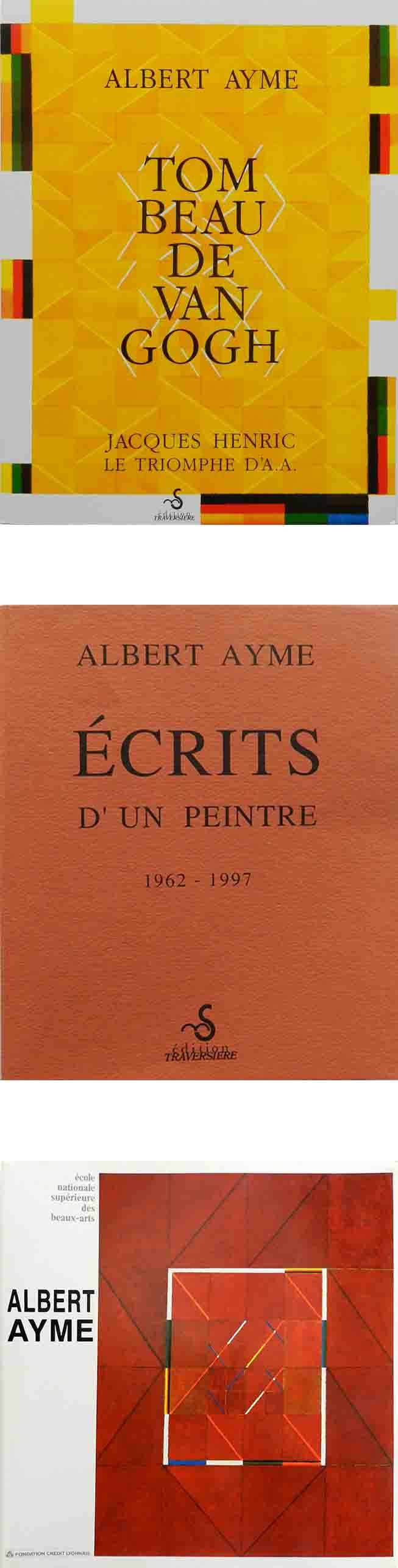 ALBERT AYME - TOMBEAU DE VAN GOGH