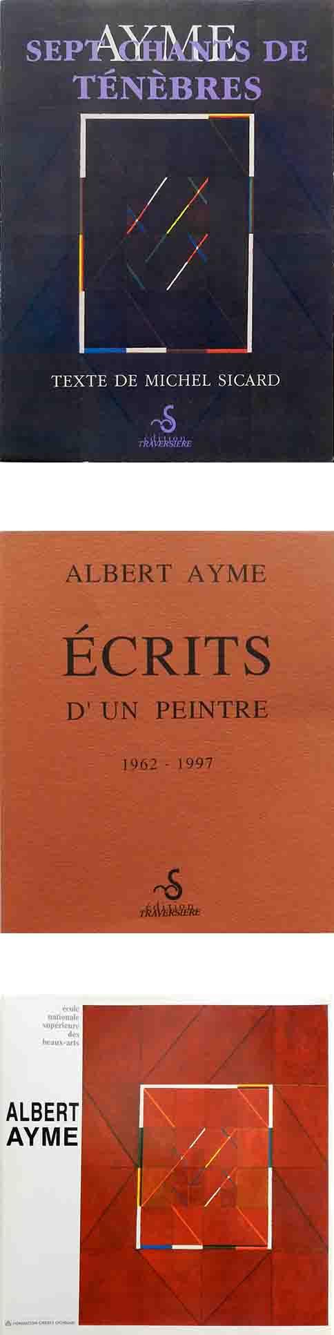 ALBERT AYME - 7 CHANTS DE TÉNÈBRES