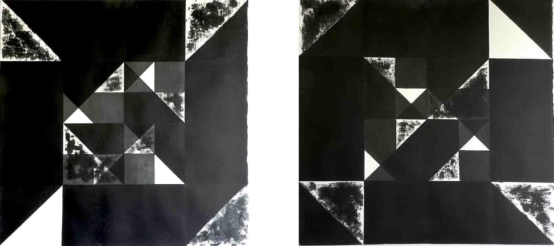 ALBERT AYME - Nuicts n° 18 et 5 - Un exercice de style - 1995