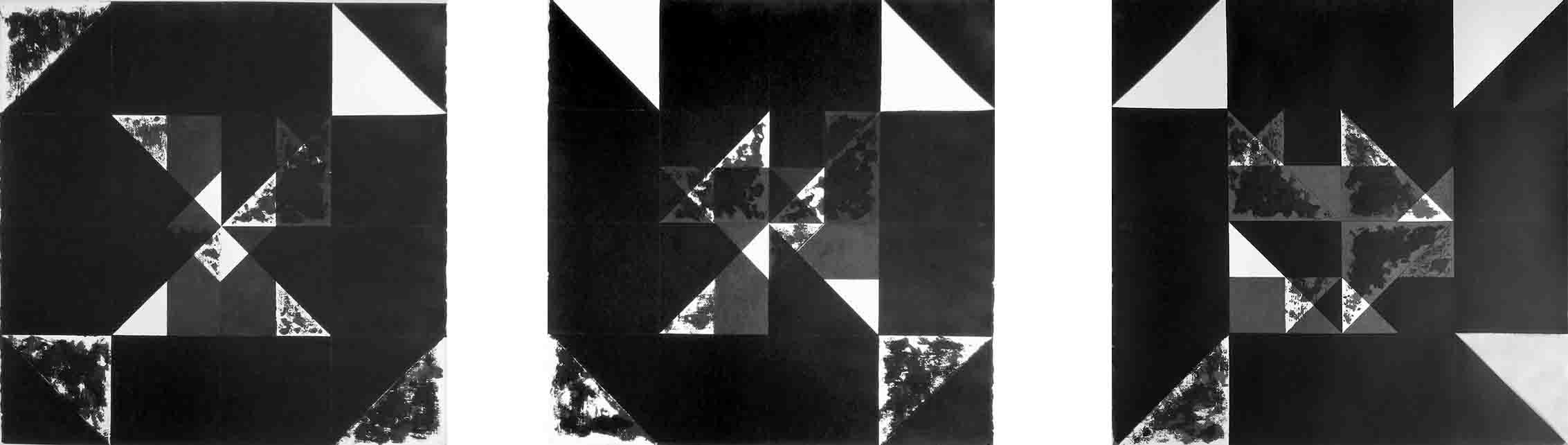 ALBERT AYME - Nuicts n° 20, 21, 22 - Un exercice de style - 1995