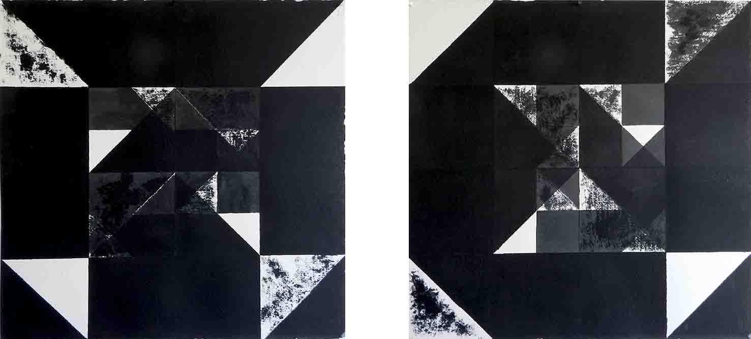 ALBERT AYME - Nuicts n° 2 et 12 - Un exercice de style - 1995