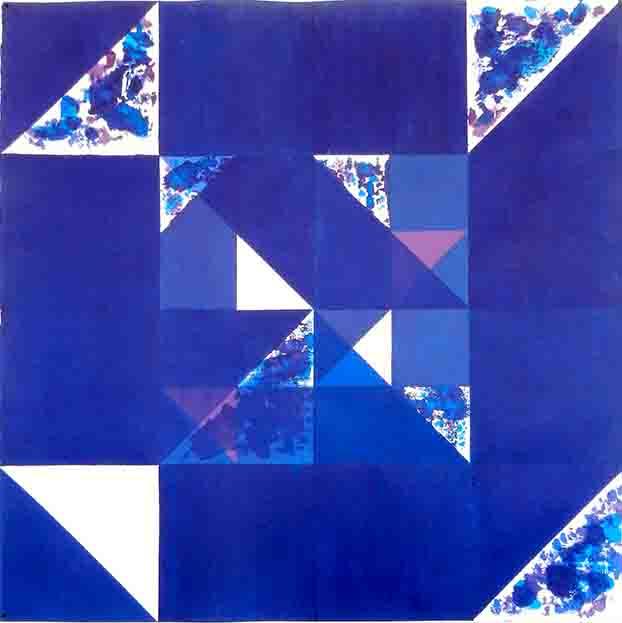 ALBERT AYME - Inventions sur 3 couleurs - 1998