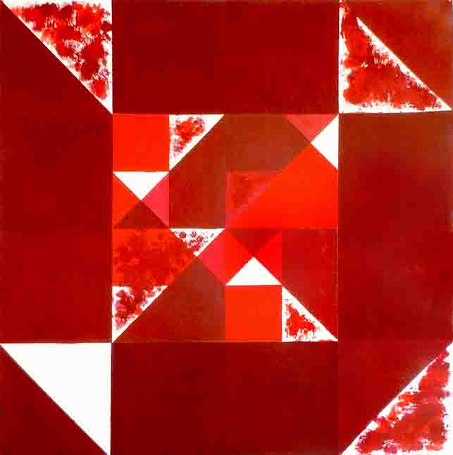 ALBERT AYME - Inventions sur 3 couleurs - 1996