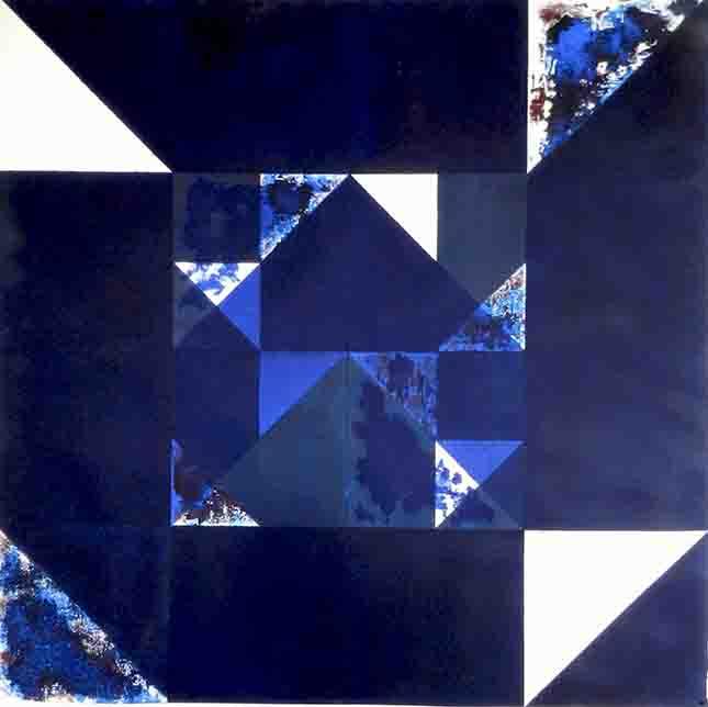 ALBERT AYME - Inventions sur 3 couleurs - 1995