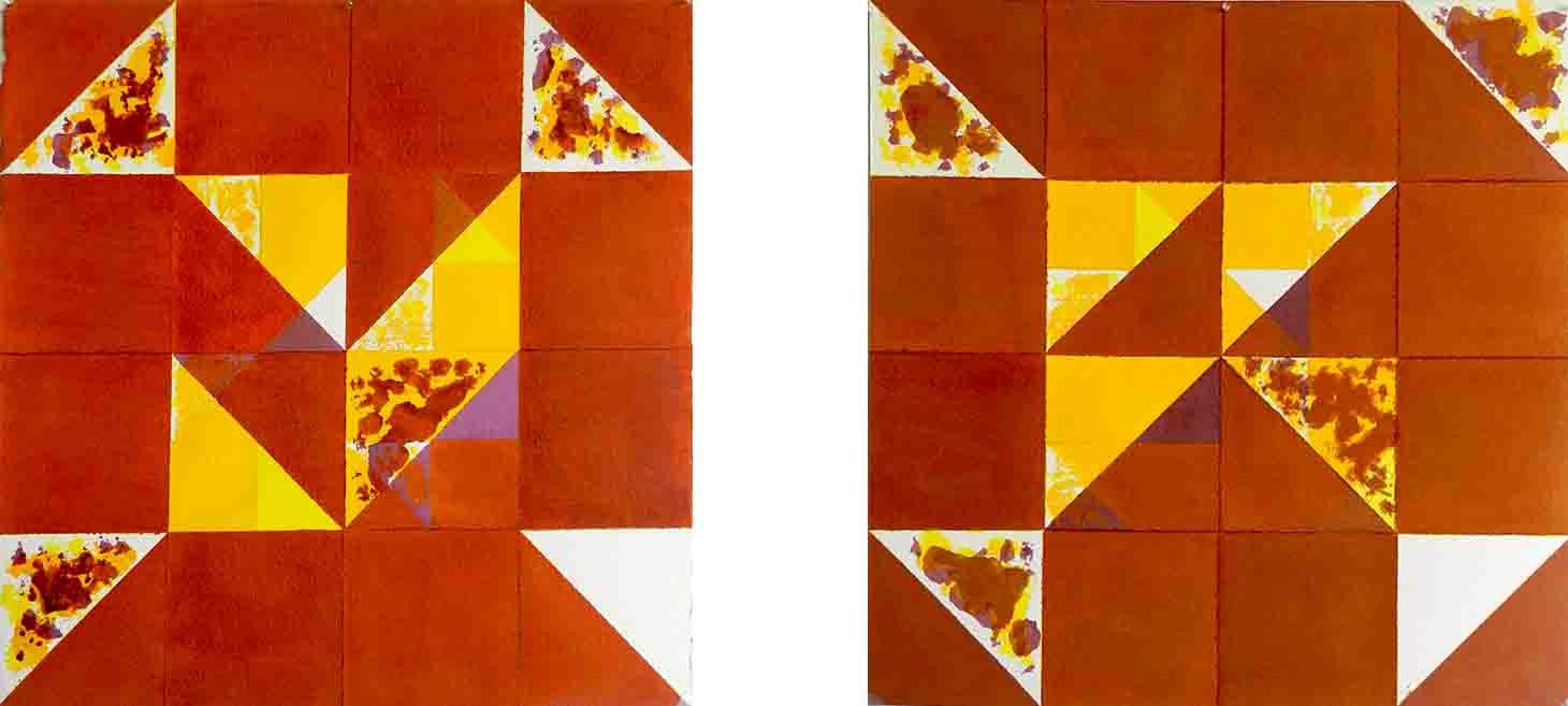 ALBERT AYME - Inventions sur 3 couleurs - Nouvelles gammes - 1998