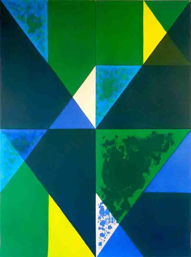 ALBERT AYME - Inventions sur 3 couleurs - 1999