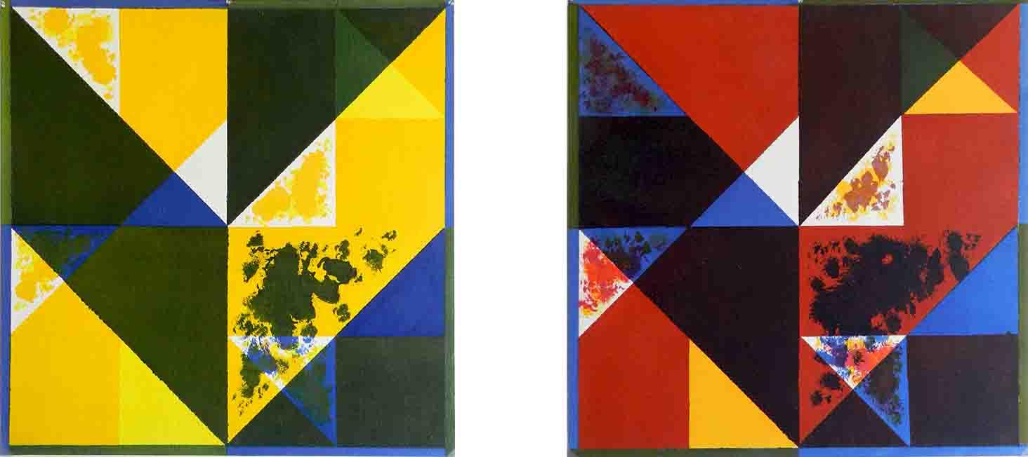 ALBERT AYME - Inventions sur 3 couleurs - Nouvelles gammes - 1999