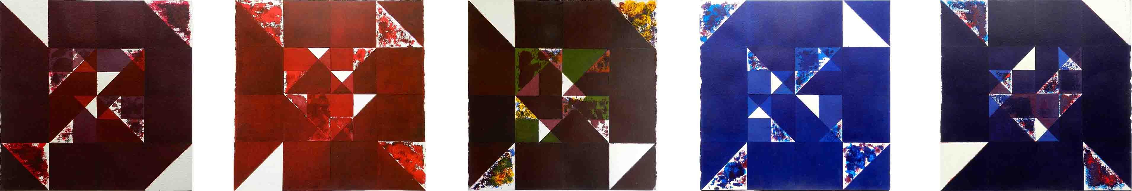 ALBERT AYME - 5 Inventions sur 3 couleurs - Nouvelles gammes - 1995 - 1998