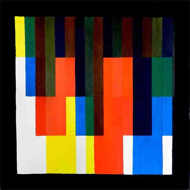 ALBERT AYME - Gros plan, Variation n° 7 -