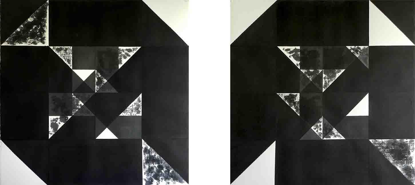 ALBERT AYME - Nuicts n° 16 et 9 - Un exercice de style - 1995