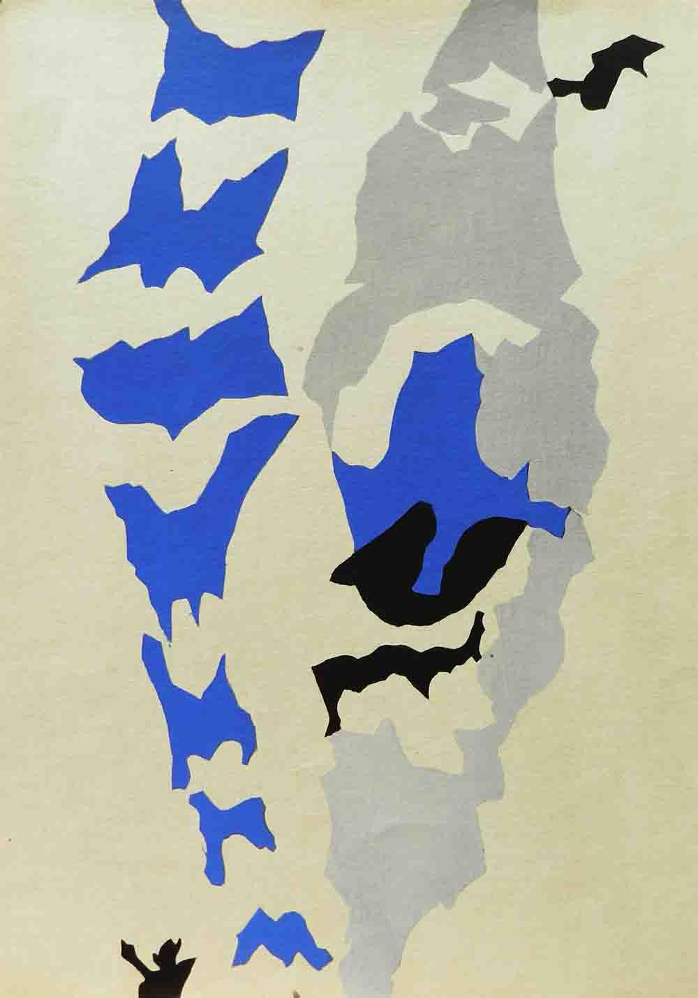 ALBERT AYME - Drap Mural n° 1 - 1962