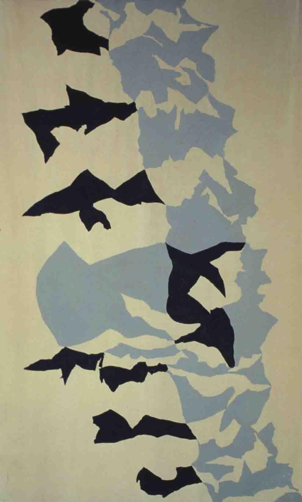 ALBERT AYME - Drap Mural n° 4 - 1962