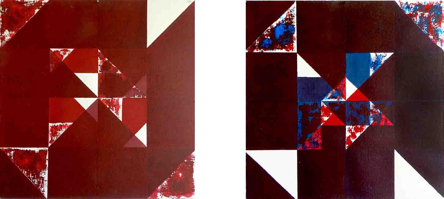 ALBERT AYME - Inventions sur 3 couleurs - Nouvelles gammes - 1994