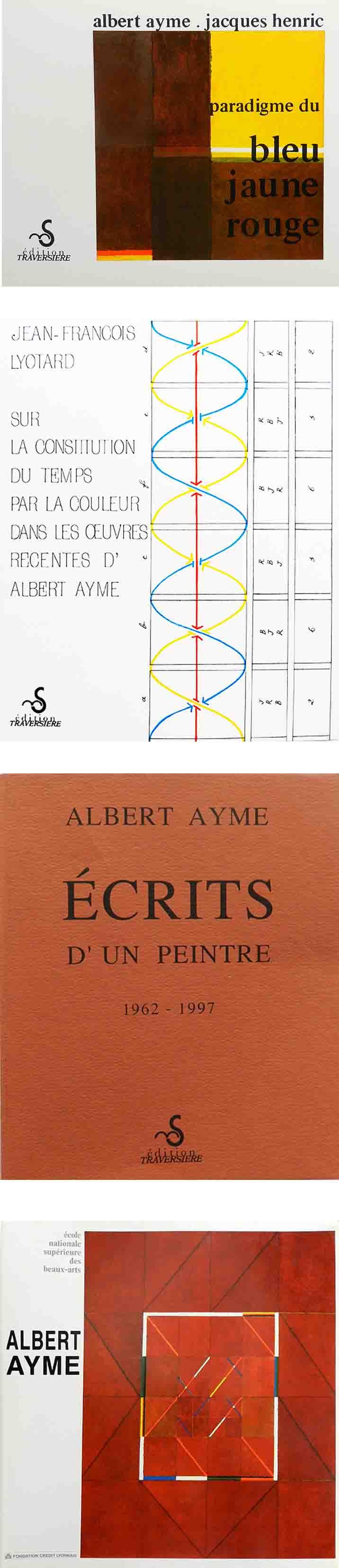 ALBERT AYME - SUITE DES 3 MÉMOIRES