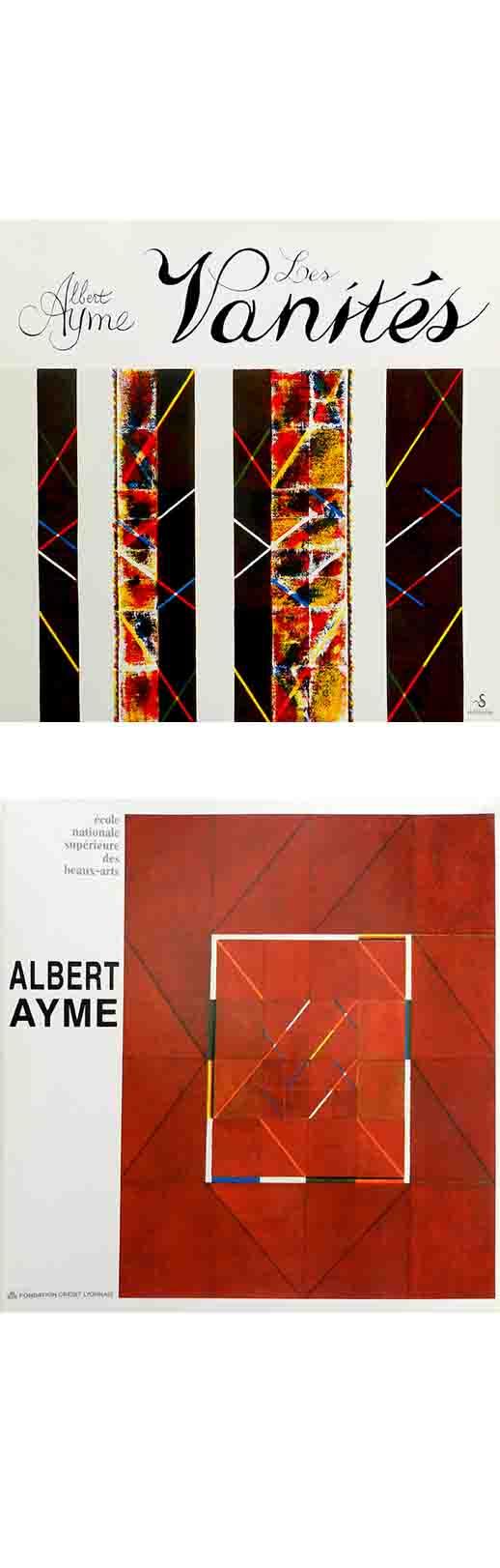 ALBERT AYME - LES VANITÉS