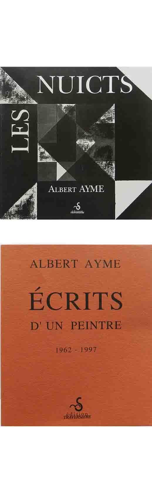 ALBERT AYME - INVENTIONS SUR 3 COULEURS